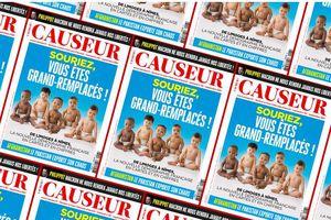 UN NUMÉRO DE CAUSEUR SUR LE GRAND CHANGEMENT DE LA POPULATION FRANÇAISE : CES VÉRITÉS SI DIFFICILES A DIRE