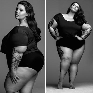 A 113 kg, Tess Holliday est la mannequin la plus oversize ! Premier shooting !