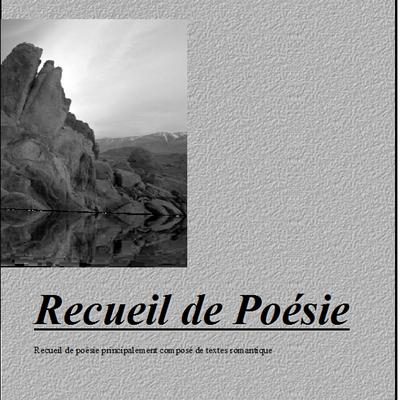 cahier de poésie