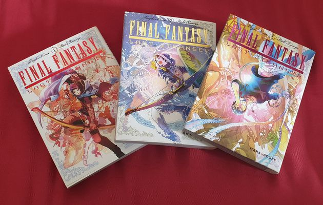 [REVUE MANGA GAMING] FINAL FANTASY LOST STRANGER TOME 1 à 3 aux éditions MANA BOOKS
