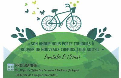 Pèlerinage à Vélo de Toulouse à Pibrac Dimanche 7 mars