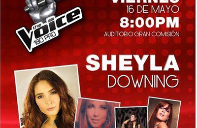 TheVoice180Pro Sheyla Downing