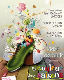 SPECTACLE Prise de Step à Limoges : LA COULEUR DES SAISONS,