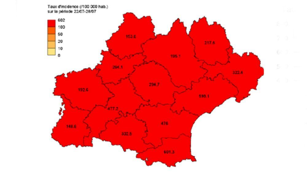 Covid-19 en Occitanie
