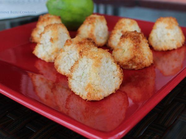 Rochers Coco Vanille et Citron Vert