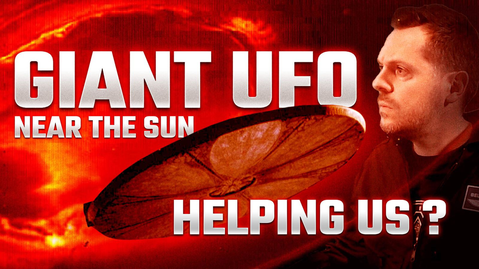 👽 Large Extraterrestrial Object Interacted With the Sun - Who is Helping Us ?