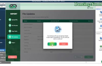 How Dancing Numbers Import Credit Card Charges into QuickBooks Desktop