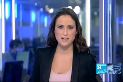 2012 01 09 @17H00 - JESSICA LE MASURIER, FRANCE 24, THE NEWS