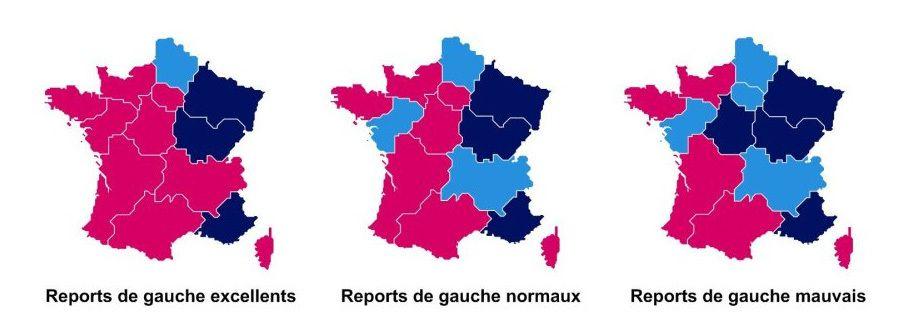 Cliquez sur ces cartes de France pour accéder aux détails