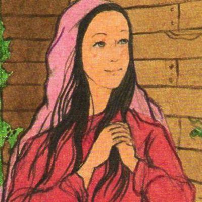 Vie & coloriages de sainte Rose de Lima