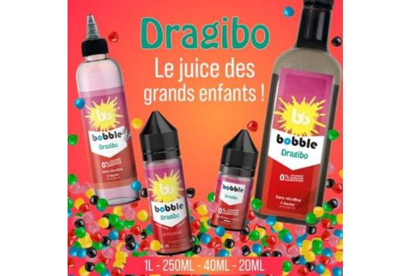 Test - Eliquide - Dragibo de chez Bobble Liquide