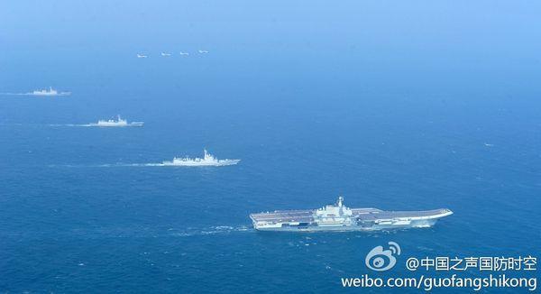 Fin de l'exercice et retour au port pour le porte-avions chinois (actualisé)