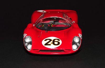 Ferrari 330 P4 1967, Fujimi 1/24ème.