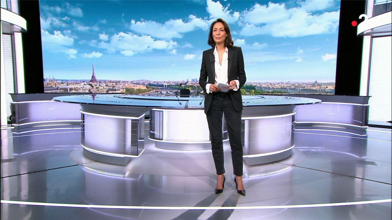 Leïla Kaddour JT 13H France 2 le 27.02.2021