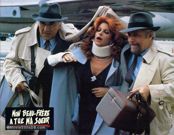 """Michel Piccoli, Milva et Michel Serrault dans """"Mon beau-frère a tué ma soeur"""" (1986)"""