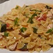 One pot pasta poulet tomates recette cookeo |