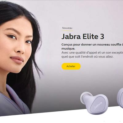 Jabra Elite 3, des écouteurs True Wireless d'entrée de gamme