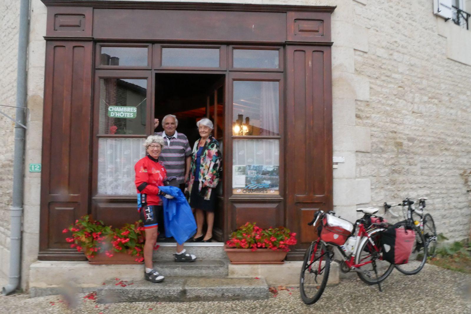 Au Mazeau, nos hôtes ont été aux petits soins pour nous