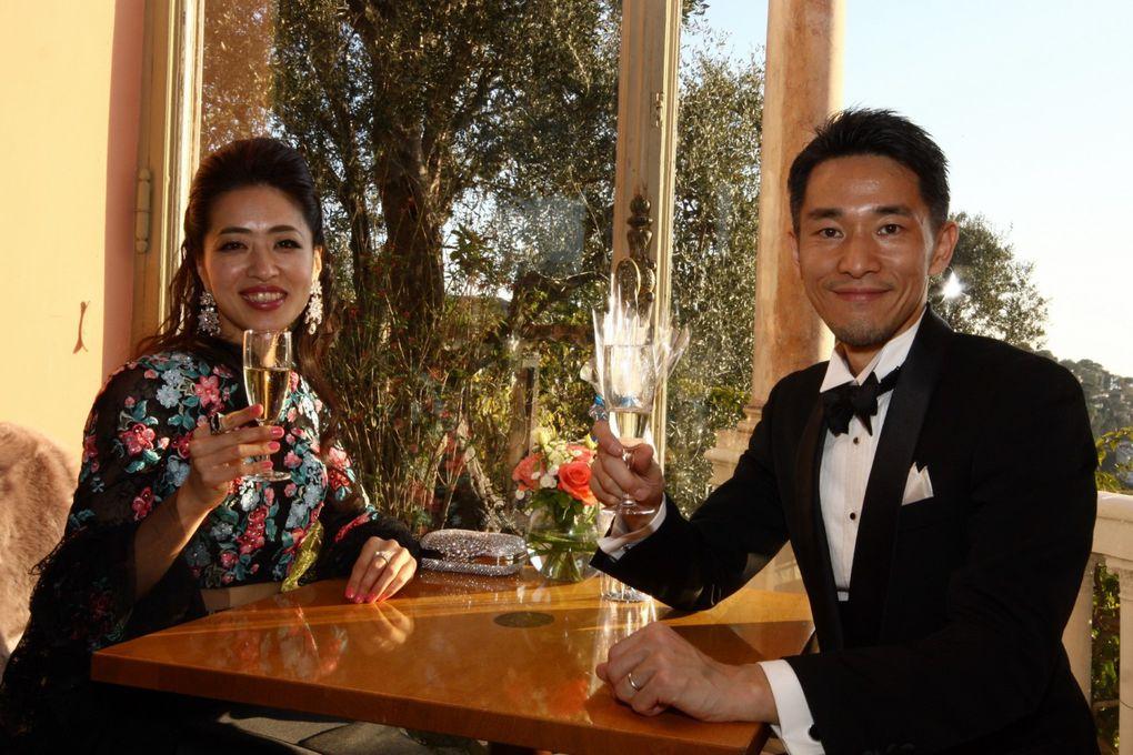 L'Association Monégasque Amitiés sans Frontières-Japon en visite à la Villa Ephrussi de Rothschild et au Bal de La Rose.