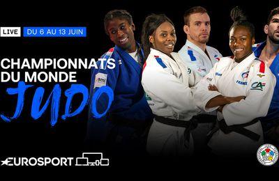 Les championnats du monde de judo à vivre dès demain en direct sur Eurosport