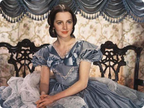 Olivia de Havilland, così mansueta che fece piangere Clark Gable (Olivia de Havilland, si douce qu'elle fit pleurer Clark Gable)