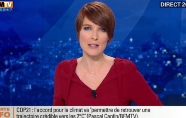 2015 12 12 - LE 20H WEEK-END de LUCIE NUTTIN sur bfm tv