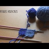 {Tricot} Les rayures verticales