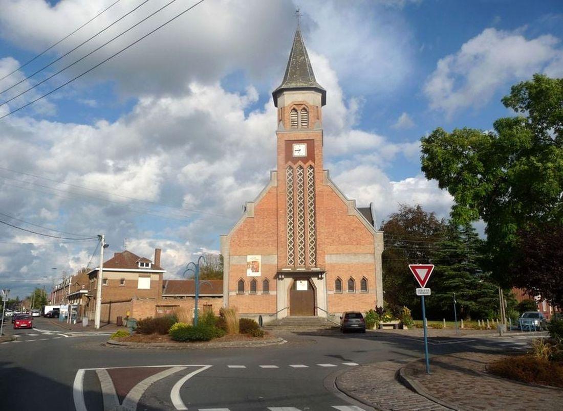 Eglise Notre-Dame des Fièvres Halluin Colbras - Août 2018.
