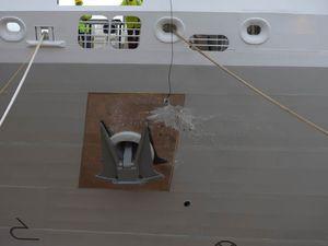 Mise à l'eau du Lyrial, le 4e paquebot de la Compagnie du Ponant