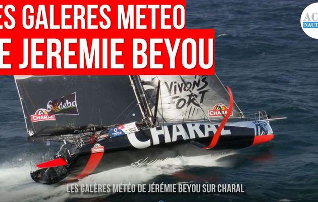 Vendée Globe 2020 - les galères météo de Jérémie Beyou à bord de Charal