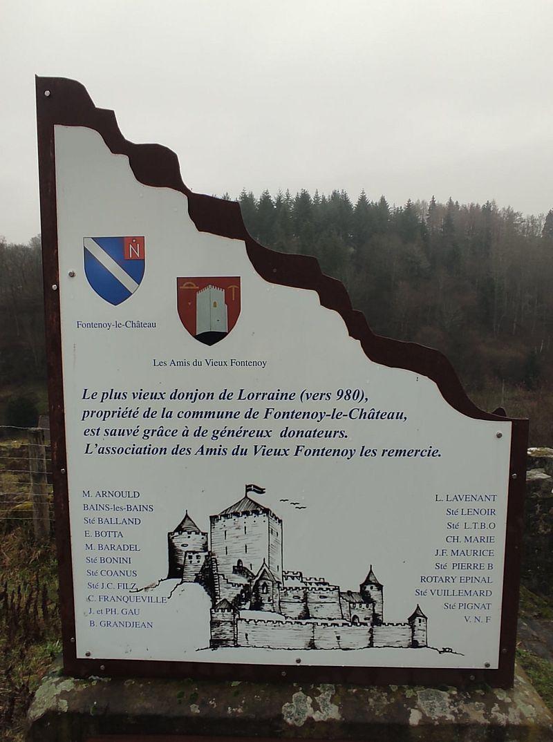 Sur les chemins de Fontenoy le Château