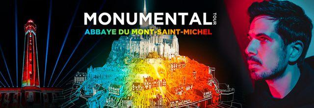 Un spectacle de Michaël Canitrot à l'abbaye du Mont-Saint-Michel diffusé ce soir sur C8