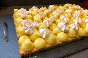 Tarte citron et orange
