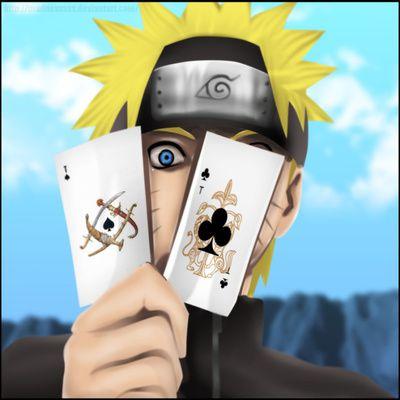 Les cartes à jouer de naruto