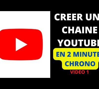 Comment CRÉER une CHAINE YOUTUBE en 2021 et en 2 MINUTES ? (TUTO YouTube)