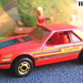 TURBO MUSTANG - FORD MUSTANG COBRA HOT WHEELS 1/64 - car-collector.net