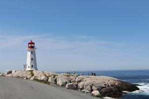 Sur le chemin du Cap Breton...