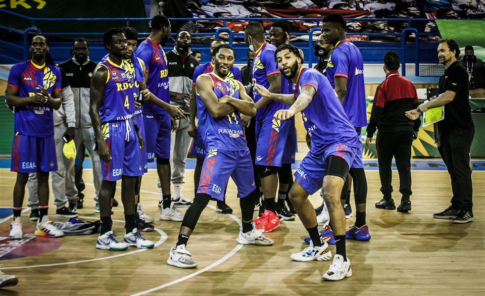 Revue d'équipe de FIBA Afrique pour l'AfroBasket 2021 : la République Démocratique du Congo