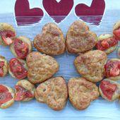 Mini cakes Triskell, cœurs et fleurs de sel - Chez Mamigoz