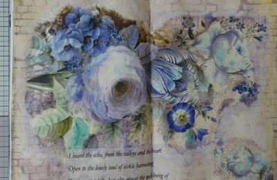 [Art Journal] Blue Flowers