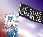 Les Simpson rendent hommage a Charlie Hebdo !