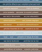 FDSE05009 : Etiquette un air masculin - Bandes de mots FEE DU SCRAP