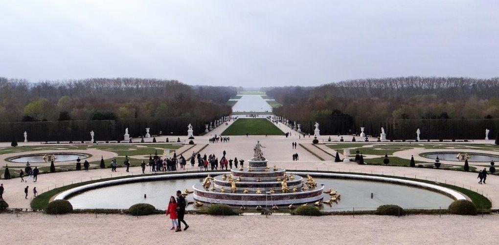 Sortie découverte Château de Versailles. Mercredi 27 mars 2019.