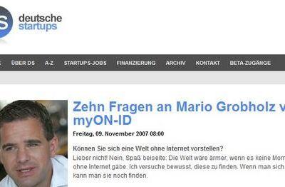 Zehn Fragen an Mario Grobholz