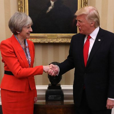 Two million Britons would protest Donald Trump's state visit to UK