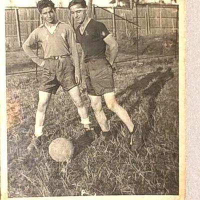 Neagu Mihai , Born in 23 November 1924 in Cernauti , Photo from Year 1944 , Bucharest , Football