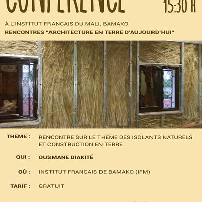 CONFERENCE-RENCONTRE Isolation Thermique 07 Juin 2019