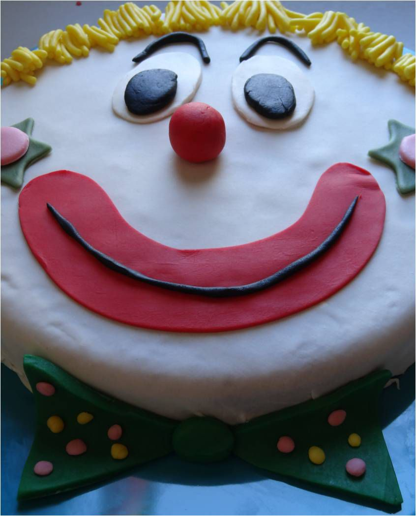 P'tit clown ! (le gateau au nez rouge)