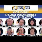 FAUT-IL ALLER VOTER ?  Soirée spéciale Européennes  (en direct sur Le Média)