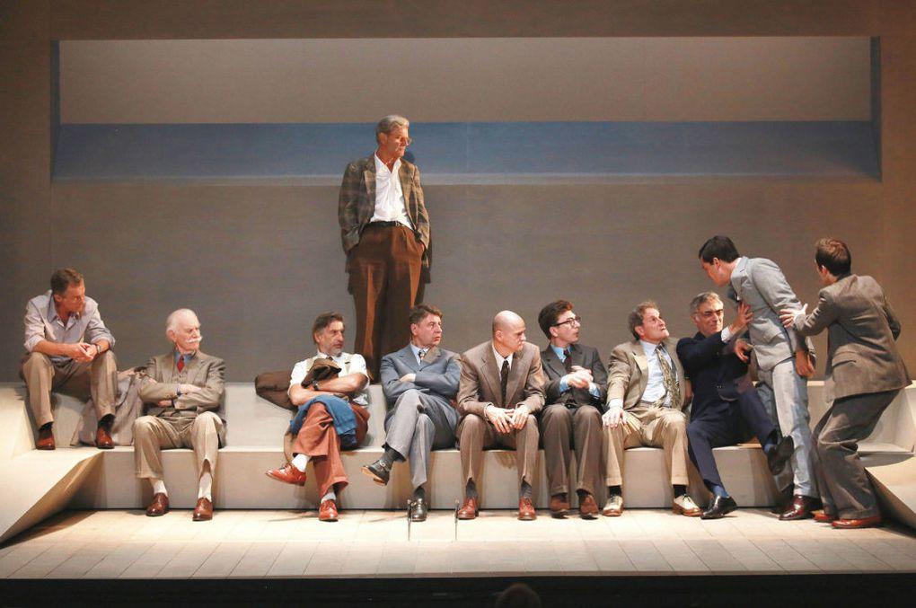 12 HOMMES EN COLERE / THEATRE HEBERTOT / Une pièce de Reginald Rose / CHRONIQUE